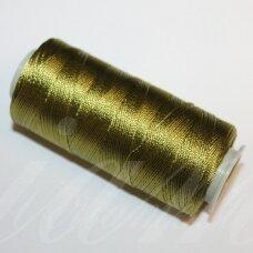 sl0470, samaninė spalva, poliesterio siūlas, 25 g.