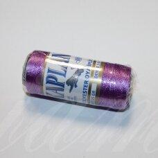 sl0552, šviesi, violetinė spalva, poliesterio siūlas, 25 g.