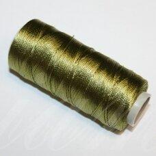 sl0583, samaninė spalva, poliesterio siūlas, 25 g.