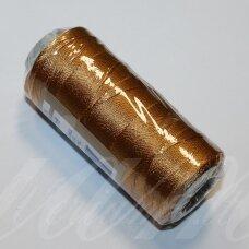 sl0780, šviesi, ruda spalva, poliesterio siūlas, 25 g.