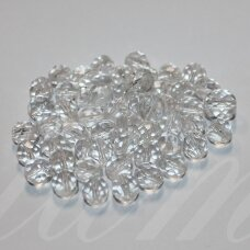 stkbmix0017 various sizes, round shape, faceted, czech glass mixture, 200 g.