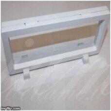 stov0009 apie 23x9cm, balta spalva, 3d dėžutė, 1 vnt.