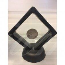 stov0030 apie istrižainė 18x18cm, juoda spalva, 3d dėžutė, 1 vnt.