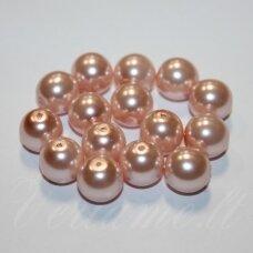 stperl0158-08 apie 8 mm, šviesi, rožinė spalva, apie 26 vnt.