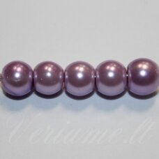 stperl0170-03 apie 3 mm, violetinė spalva, stiklinis perliukas, apie 300 vnt.