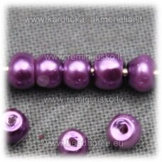 stperl0171-03 apie 3 mm, violetinė spalva, apie 300 vnt.