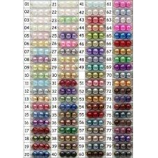 stperl0233-04 apie 4 mm, apvali forma, stiklinis perliukas, spalva pavaizduota 33 numeriu, apie 200 vnt.