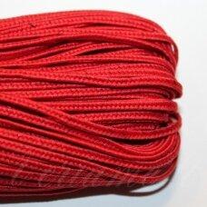 stz0026 apie 2.5 mm, raudona spalva, sutažo juostelė, 5 m.