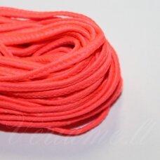 stz0064 apie 2.5 mm, rožinė spalva, sutažo juostelė, 5 m.
