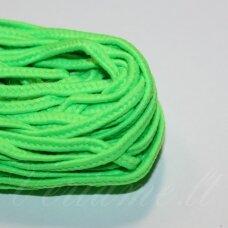 stz0065 apie 2.5 mm, žalia spalva, sutažo juostelė, 5 m.