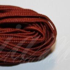 stz0067 apie 2.5 mm, ruda spalva, sutažo juostelė, 5 m.