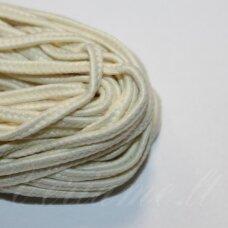 STZ0069 apie 2.5 mm, gelsva spalva, sutažo juostelė, 5 m.