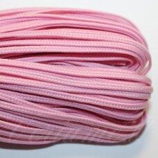 stz0076 apie 2.5 mm, rožinė spalva, sutažo juostelė, 5 m.