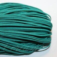 STZ0078 apie 2.5 mm, tamsi, žalia spalva, sutažo juostelė, 5 m.