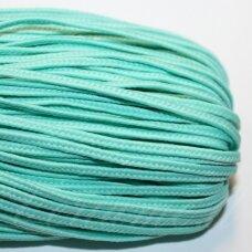 stz0079 apie 2.5 mm, šviesi, žalia spalva, sutažo juostelė, 5 m.