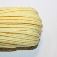 stz0081 apie 2.5 mm, šviesi, geltona spalva, sutažo juostelė, 5 m.