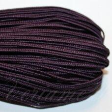 stz0081 apie 2.5 mm, tamsi, violetinė spalva, sutažo juostelė, 5 m.