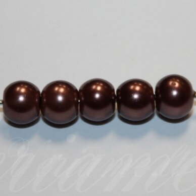 jsstperl0272-08 apie 8 mm, apvali forma, stiklinis perliukas, apie 100 vnt.