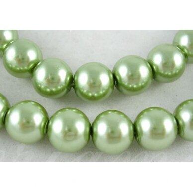 stperl0343-03 apie 3 mm, apvali forma, stiklinis perliukas, samaninė spalva, apie 150 vnt. / x 5 pakeliai.