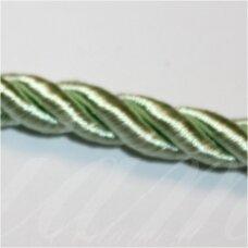 SUPERPPVGEL0025 apie 5 mm, šviesi, salotinė spalva, sukta virvutė, 50 m.
