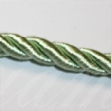 SUPERPPVGEL0025 about 8 mm, light, green color, twisted cord, 20 m.