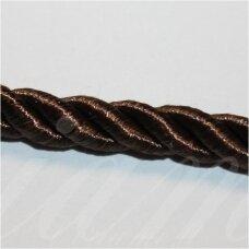 SUPERPPVGEL0038 apie 4 mm, tamsi, ruda spalva, sukta virvutė, 50 m.