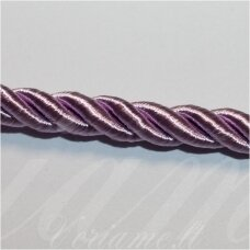 SUPERPPVGEL0041 about 6 mm, light, lilac color, twisted cord, 25 m.