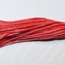 svsl0003, šviesi, raudona spalva, medvilnė, siūlai, apie 8 m.