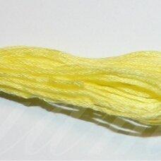 svsl0010, šviesi, geltona spalva, medvilnė, siūlai, apie 8 m.