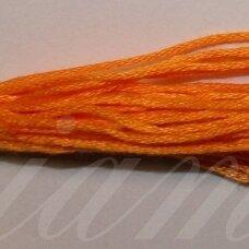 svsl0011, oranžinė spalva, medvilnė, siūlai, apie 8 m.