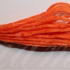 svsl0015, tamsi, oranžinė spalva, medvilnė, siūlai, apie 8 m.