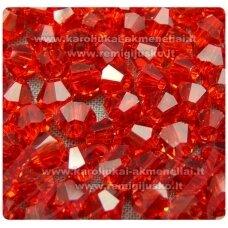 sw0512k apie 5 mm, raudona spalva, skaidrus, 10 vnt.