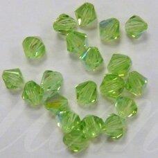 sw0516k apie 5 mm, šviesi, žalia spalva, 10 vnt.