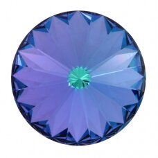 Swarovski 1122 Rivoli SS39 (8.3mm) Aquamarine Vitrail Light (6 vnt)