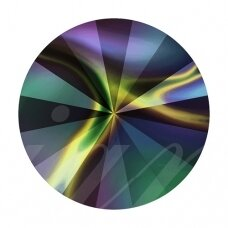 Swarovski 1122 Rivoli SS47 (10.7mm) Crystal Rainbow Dark (4 vnt)