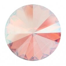 Swarovski 1122 Rivoli SS47 (10.7mm) Light Rose Shimmer (4 vnt)