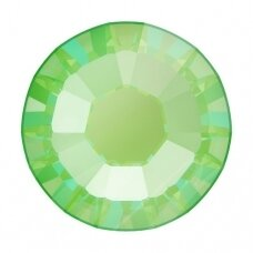 Swarovski 2038 XILION Rose SS10 (2.8mm) Crystal Electric Green DeLite (80 vnt)