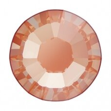 Swarovski 2038 XILION Rose SS10 (2.8mm) Crystal Electric Orange DeLite (80 vnt)