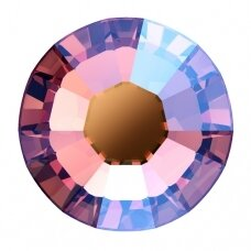Swarovski 2038 XILION Rose SS6 (2mm) Rose Peach Shimmer (80 vnt)