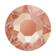 Swarovski 2078 XIRIUS Rose SS16 (4mm) Crystal Electric Orange DeLite (60 vnt)
