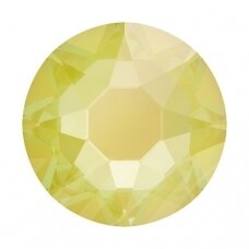 Swarovski 2078 XIRIUS Rose SS16 (4mm) Crystal Electric Yellow DeLite (60 vnt)