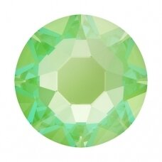 Swarovski 2078 XIRIUS Rose SS34 (7mm) Crystal Electric Green DeLite (15 vnt)