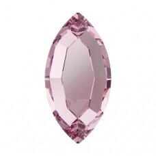 Swarovski 2200 Navette 8x4mm Light Rose (10 vnt)