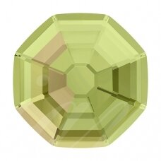 Swarovski 2611/G Solaris pusiau matinis 8mm Crystal Luminous Green (4 vnt)