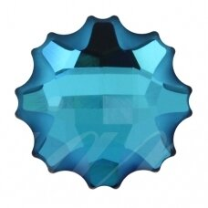 Swarovski 2612 Jelly Fish 14mm Crystal Bermuda Blue (2 vnt)