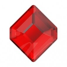 Swarovski 2777 Concise Hexagon 10x8.4mm Light Siam (2 vnt)