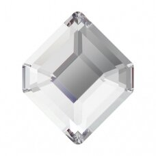 Swarovski 2777 Concise Hexagon 5x4.2mm Crystal (8 vnt)
