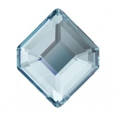 Swarovski 2777 Concise Hexagon 6.7x5.6mm Aquamarine (6 vnt)
