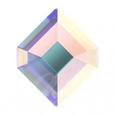 Swarovski 2777 Concise Hexagon 6.7x5.6mm Crystal AB (6 vnt)