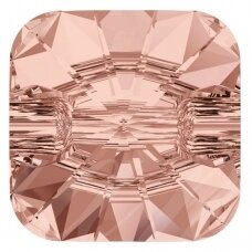 Swarovski 3009 Rivoli Square 12mm Blush Rose (4 vnt)